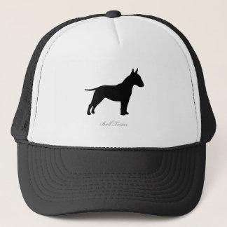 Bull Terrier silhouette Trucker Hat