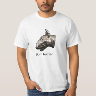 Bull Terrier, T-shirt with dog