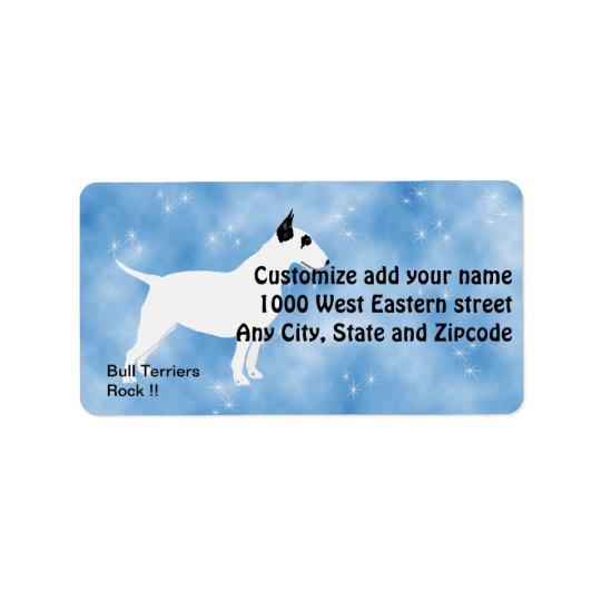 Bull Terriers Rock !! Label