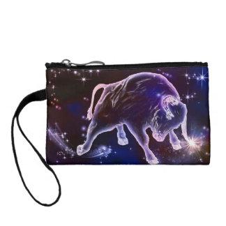 Bull universe change purse