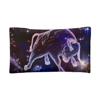 Bull universe cosmetic bag