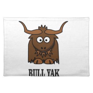bull yak placemat