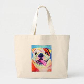 Bulldog #4 tote bags