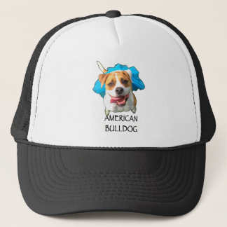 bulldog american trucker hat