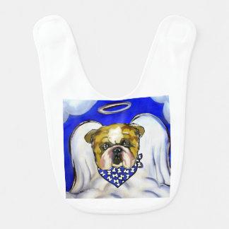 Bulldog Angel Bib