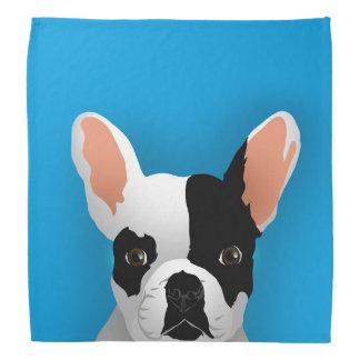 Bulldog art - french bulldog bandana