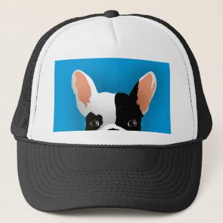 Bulldog art - french bulldog trucker hat