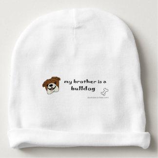 bulldog baby beanie