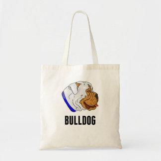 Bulldog Tote Bags
