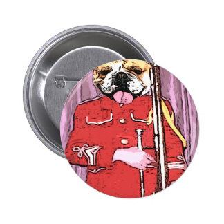 Bulldog band camp buttons