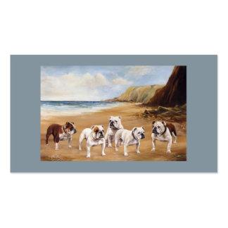 Bulldog Breeder Business Card