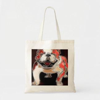 Bulldog Budget Tote Bag