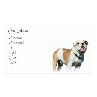 Bulldog business cards