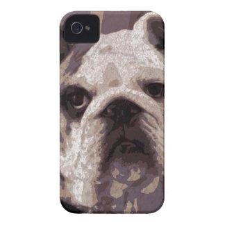 Bulldog Close iPhone 4 Cases
