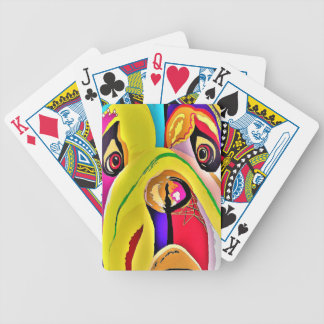 Bulldog Close-up Bicycle Playing Cards