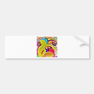 Bulldog Close-up Bumper Sticker