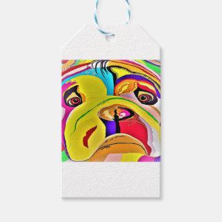 Bulldog Close-up Gift Tags