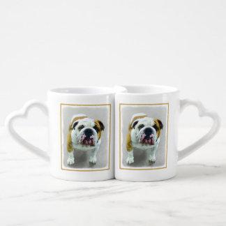 Bulldog Coffee Mug Set