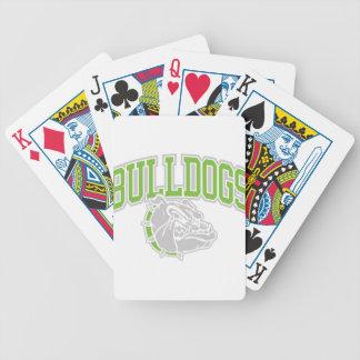 BullDog COOLGREY Bicycle Playing Cards