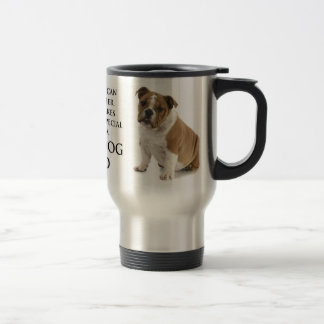 Bulldog Dad Travel Mug