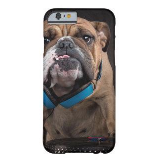 bulldog dj - dj dog barely there iPhone 6 case