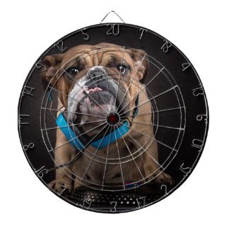 bulldog dj - dj dog dartboard