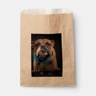 bulldog dj - dj dog favour bag