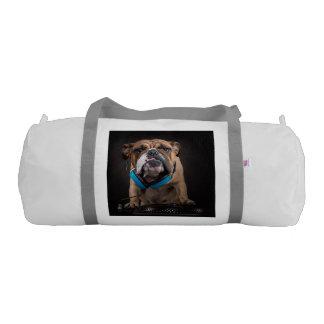 bulldog dj - dj dog gym bag
