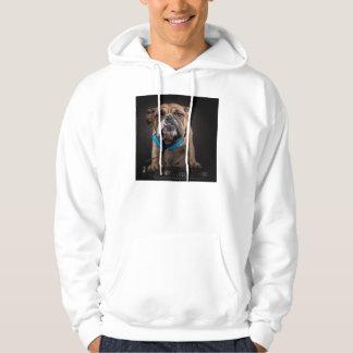 bulldog dj - dj dog hoodie