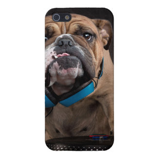 bulldog dj - dj dog iPhone 5/5S cases
