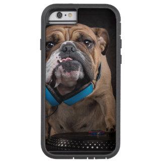 bulldog dj - dj dog tough xtreme iPhone 6 case