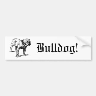 Bulldog Dog Business Bumper Stickers