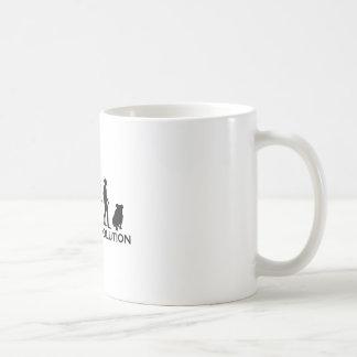Bulldog Evolution Coffee Mugs