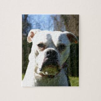 Bulldog Face Puzzles