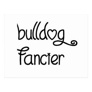 bulldog fancier postcard