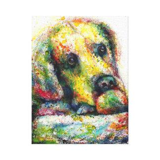 Bulldog Fantasy Canvas Print