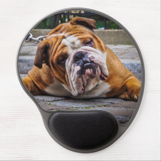 Bulldog Gel Mousepad