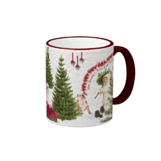 Bulldog Have Yourself a Merry Little Christmas Coffee Mugs