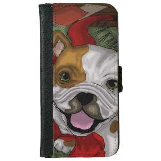 Bulldog iPhone 6 Wallet Case