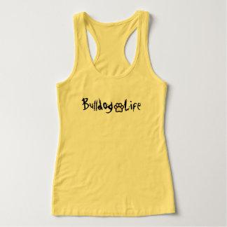Bulldog life singlet