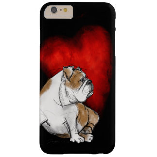Bulldog Love Barely There iPhone 6 Plus Case
