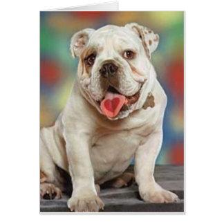 Bulldog Love Greeting Card