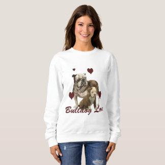 Bulldog Love Ladies shirt