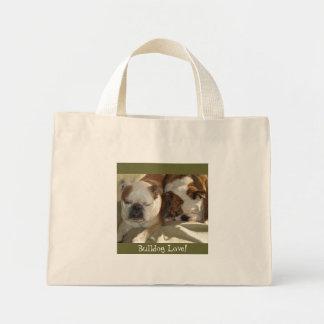 Bulldog Love! Mini Tote Bag