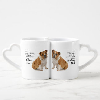 Bulldog Lovers Mom and Dad Mugs