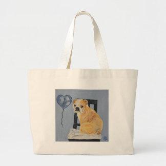 Bulldog Madeline Tote Bags