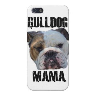 Bulldog Mama English Bulldog iphone Case Protector Case For The iPhone 5