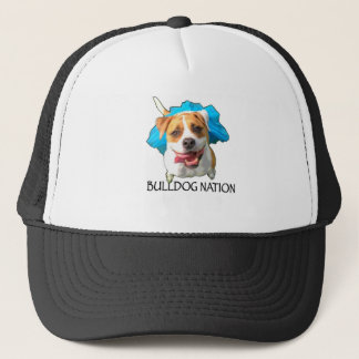 bulldog nation trucker hat