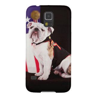 Bulldog Navy Official Mascot Dog Galaxy S5 Case