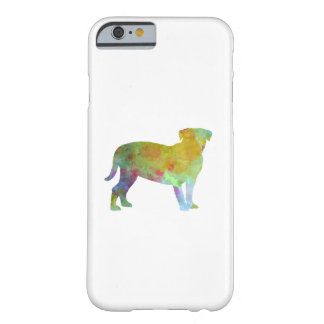 Bulldog of Bordeaux in watercolor Barely There iPhone 6 Case